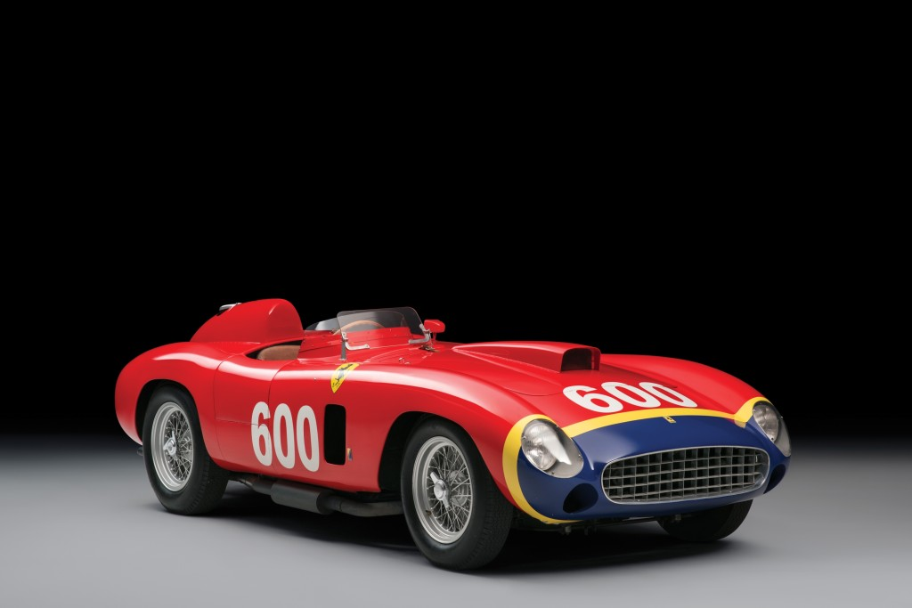 1956 Ferrari 290 MM by Scaglietti, @Courtesy Sotheby's