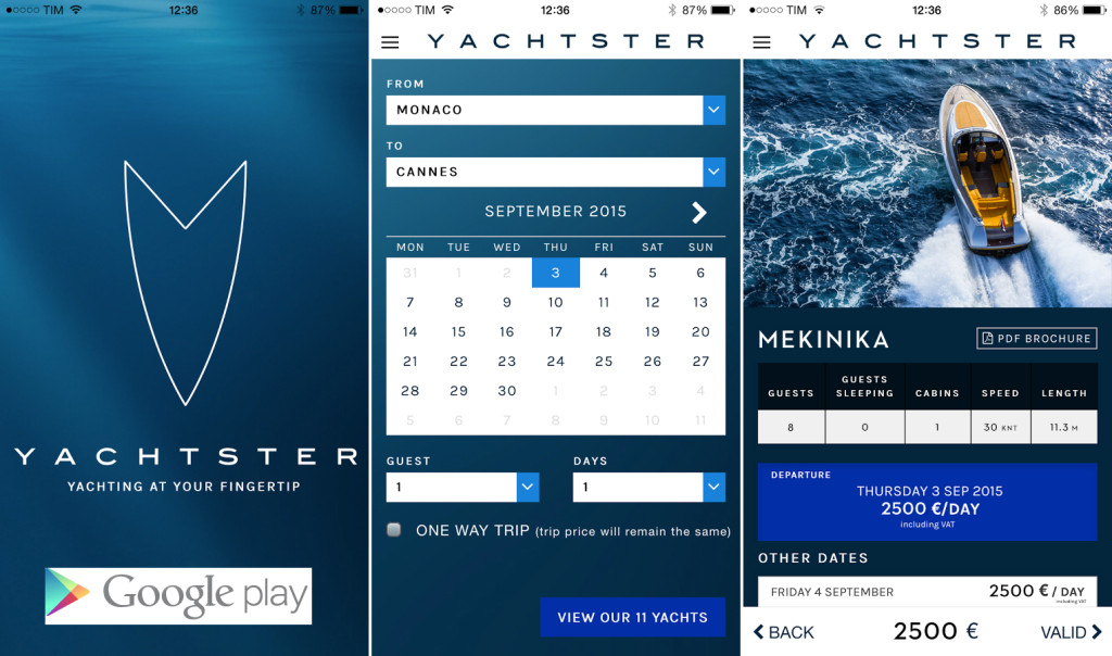 Yachtster googleplay