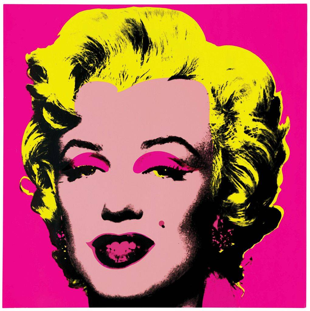 "Untitled from Marilyn Monroe (Marilyn). 1967 One from a portfolio of ten screenprints Composition and sheet: 36 x 36"" (91.5 x 91.5 cm) Publisher: Factory Additions, New York Printer: Aetna Silkscreen Products, New York Editions: 250 The Museum of Modern Art, New York. Gift of Mr. David Whitney, 1968 © 2004 Andy Warhol Foundation for the Visual Arts/Artists Rights Society (ARS), New York"