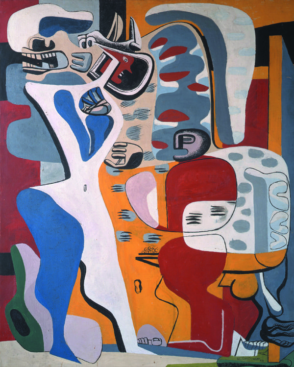 Le Corbusier 5338 Menace HRE ┬й Landau Fine Art, Switzerland and Canada