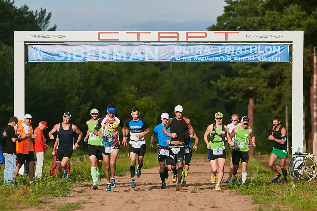 Соревнования Siberman ultra triathlon