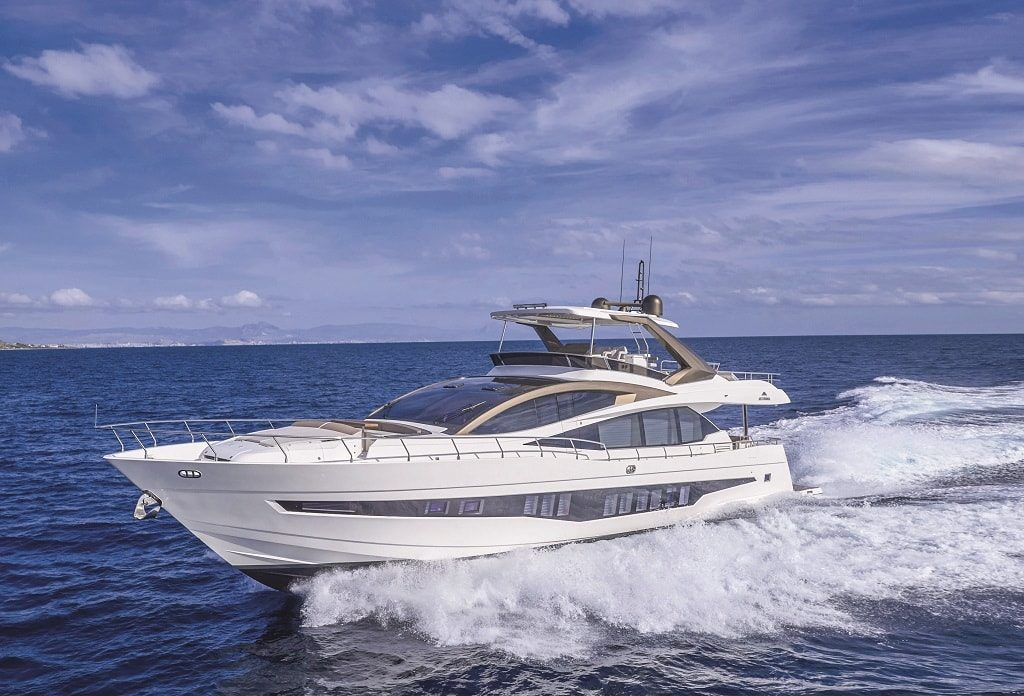 Astondoa 80 Flybridge. Фото: Aura Yachts