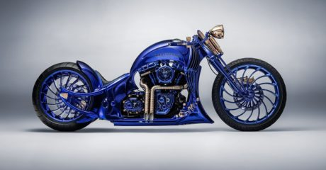 Harley-Davidson Bucherer Blue Edition. Фото: Bucherer AG