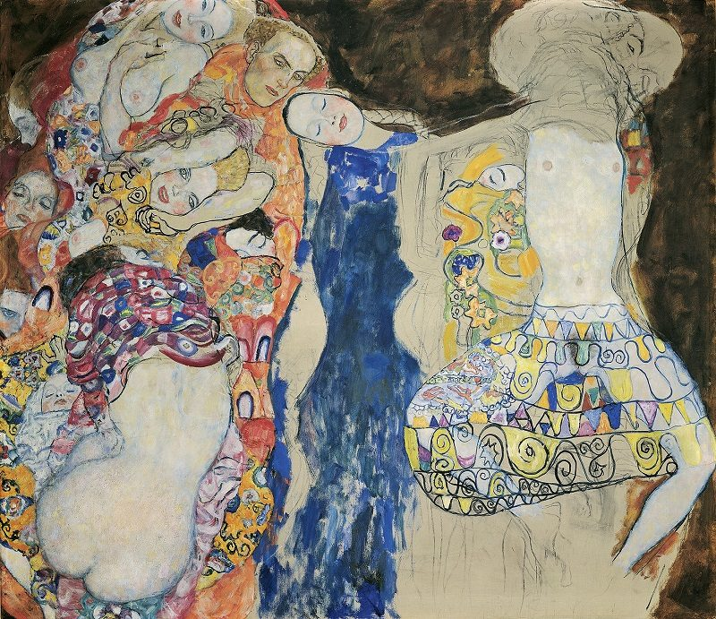 Густав Климт, «Невеста», 1917/18. Фото: Klimt-Foundation