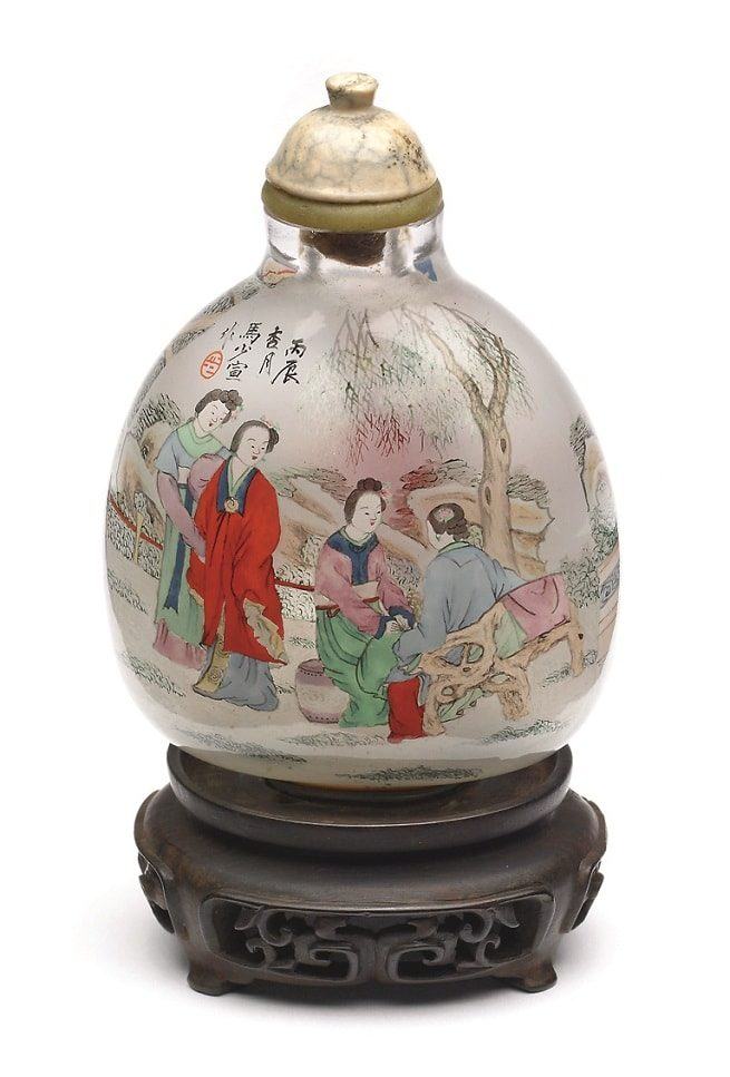 Snuff Bottle. Художник Chou Lo-Yuan. Фото: The Walters Art Museus