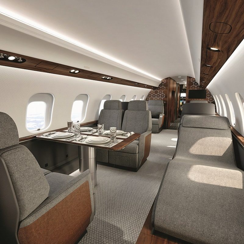 Global 6500. ФОТО: BOMBARDIER BUSINESS AIRCRAFT