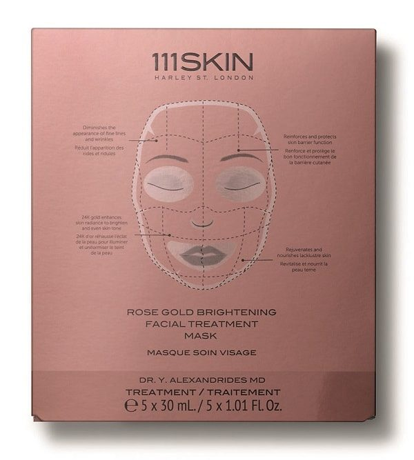 Rose Gold Brightening Face Treatment Mask от 111 SKIN