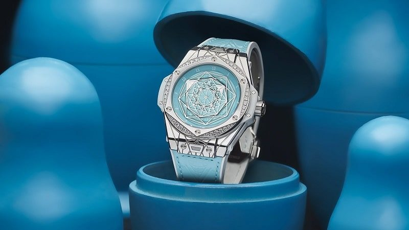 Big Bang One Click Sang Bleu Steel Turquoise, Hublot
