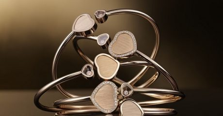 Браслеты Happy Hearts – Golden Hearts, Chopard