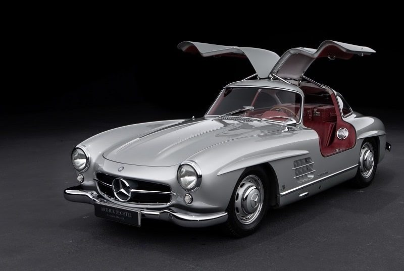 Mercedes-Benz 300 SL coupe W198. ФОТО: ARTHUR-BECHTEL.COM